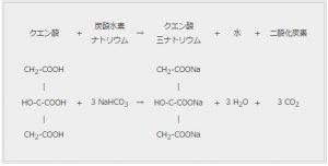 炭酸水化学反応式